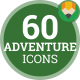 Adventure Travel Vacation - Flat Animated Icons and Elements - VideoHive Item for Sale