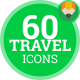 Travel Journey Trip - Flat Icons - VideoHive Item for Sale