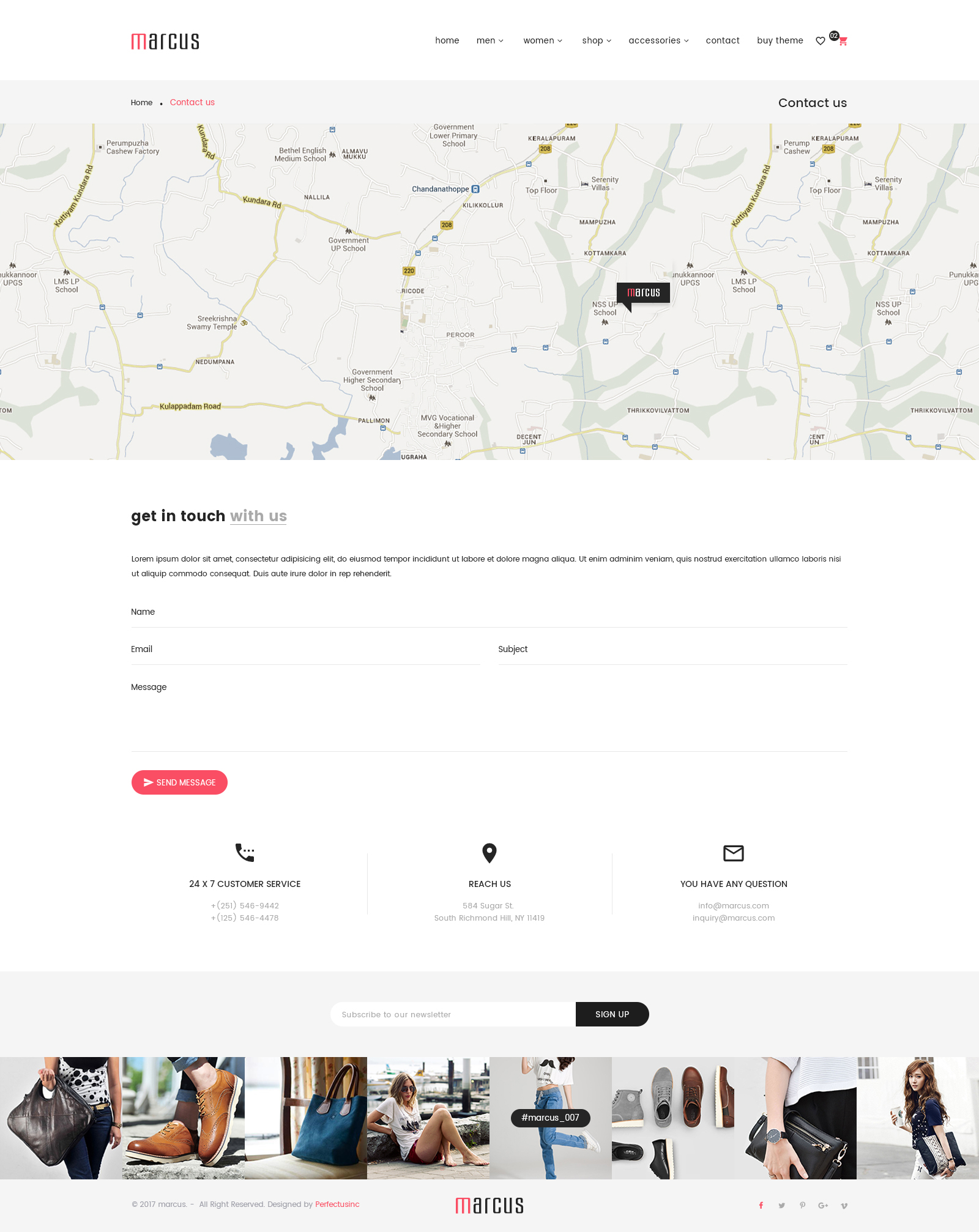 Marcus - Multipurpose WooCommerce and Magento PSD Template by ...