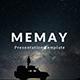 Memay Minimal Google Slide Template - GraphicRiver Item for Sale
