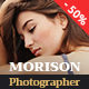 July Morison | Event Photographer's Portfolio & Blog - ThemeForest Item for Sale
