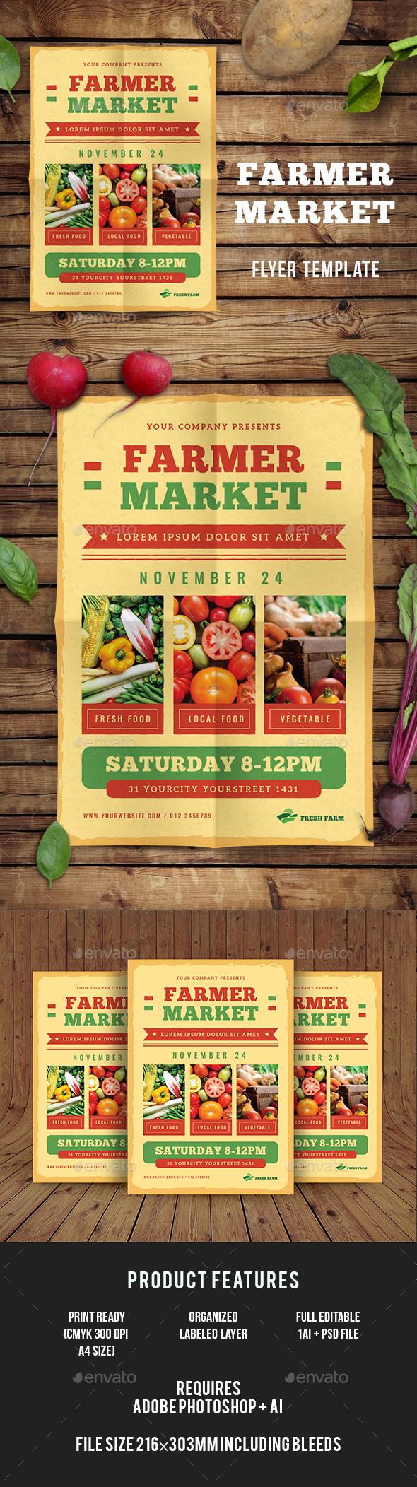 Farmer Market Flyer - Events Flyers