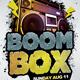 BoomBox Flyer