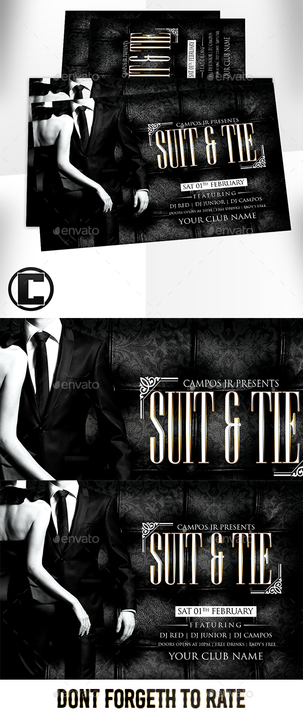 Suit & Tie - Clubs & Parties Events