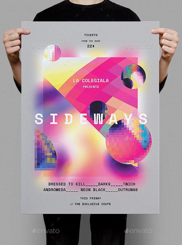 GraphicRiver Sideways Poster Flyer 20328901