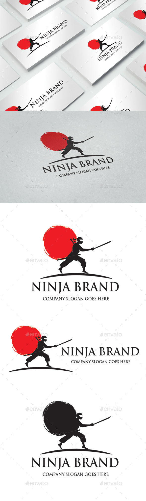 GraphicRiver Ninja Brand Logo 20326958