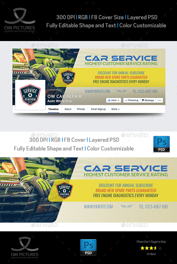 Car Service Facebook Cover - Facebook Timeline Covers Social Media