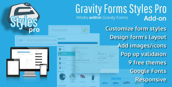 Gravity Forms Styles Pro Add-on - CodeCanyon Item for Sale