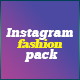 Instagram Fashion Pack Template - GraphicRiver Item for Sale