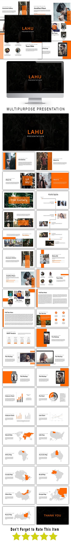 Lahu Multipurpose Google Slide Template - Google Slides Presentation Templates