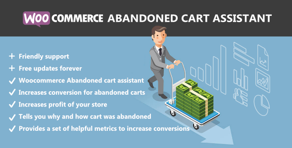 WooCommerce Abandoned Cart Assistant - CodeCanyon Item for Sale