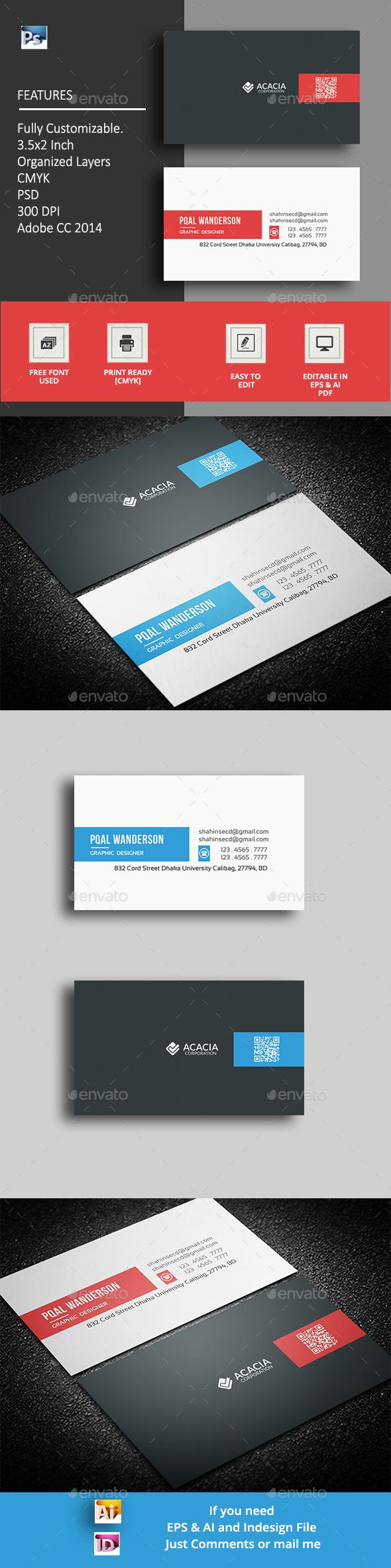 Alumn Business Card - Corporate Business Cards