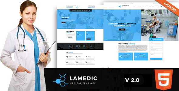 Lamadic - Health & Medical HTML Template - Health & Beauty Retail