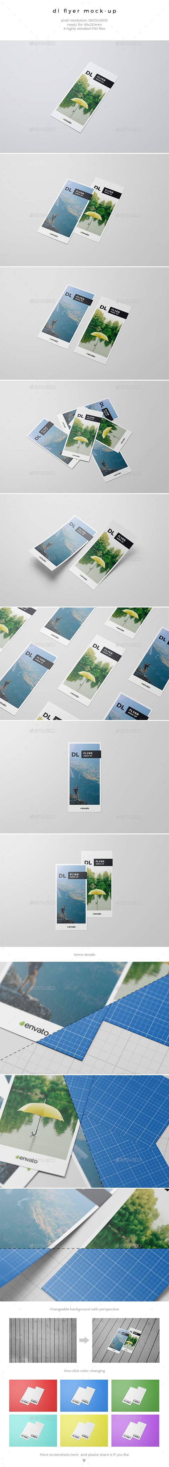GraphicRiver DL Flyer Mock-Up 20329800