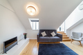 Modern apartment with white walls and light wooden floor - PhotoDune Item for Sale