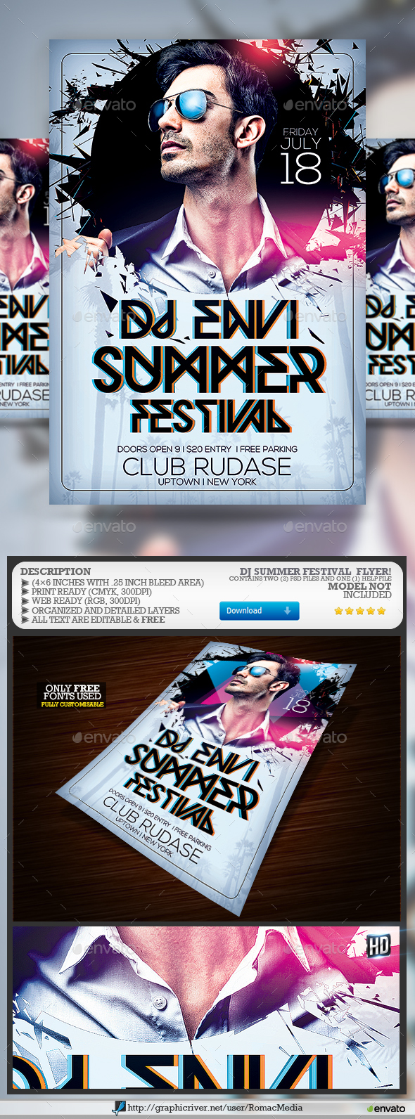 DJ Summer Festival - Clubs & Parties Events