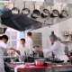 The Cooks Working on the Kitchen in the Restaurant - VideoHive Item for Sale