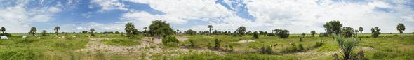 360 seamless panorama of South Sudan
