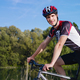 Young Man Training on Mountain Bike - PhotoDune Item for Sale