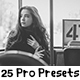25 Pro Presets - GraphicRiver Item for Sale