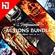 Five Photoshop Actions Bundle v4 - GraphicRiver Item for Sale