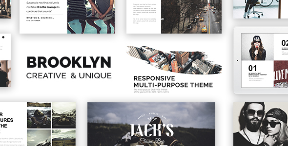 Brooklyn | Creative Multi-Purpose WordPress Theme - Creative WordPress