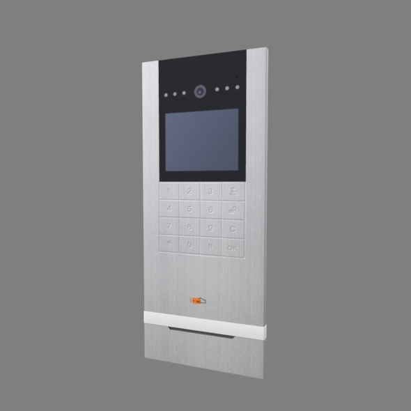 IP video door phone calling panel - 3DOcean Item for Sale