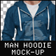 Man Hoodie Fashion Mock-Up - GraphicRiver Item for Sale