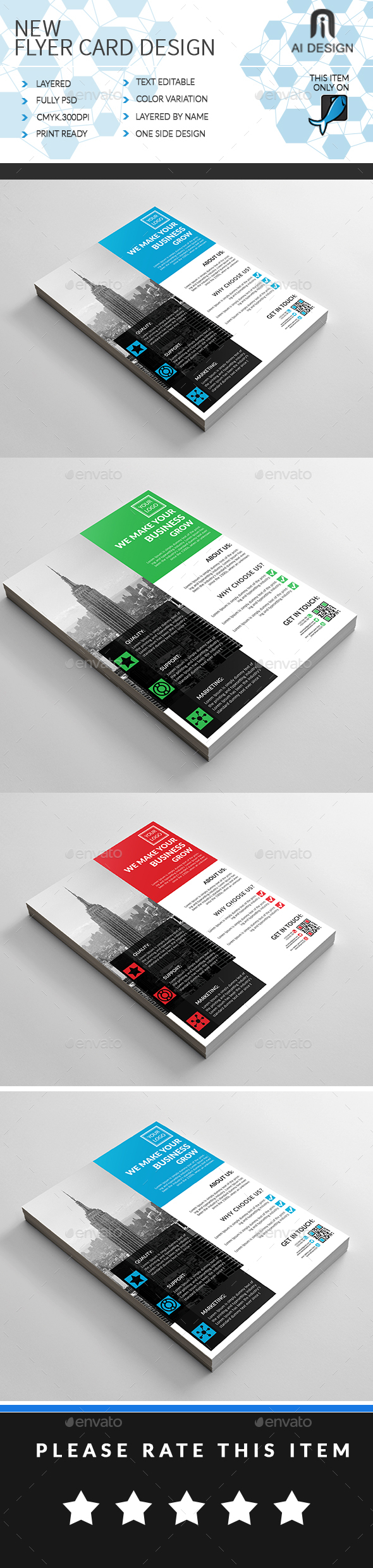 GraphicRiver Corporate Business Flyer 20330483