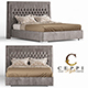 Ceppi Style Luxury Bed - 3DOcean Item for Sale