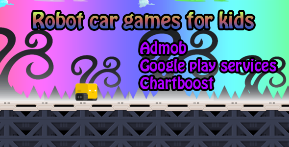 Robot car games for kids - Android - BBDOC - CodeCanyon Item for Sale