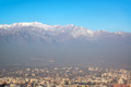 Santiago and Andes Mountains - PhotoDune Item for Sale