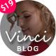Vinci - Responsive WordPress Blog Theme - ThemeForest Item for Sale