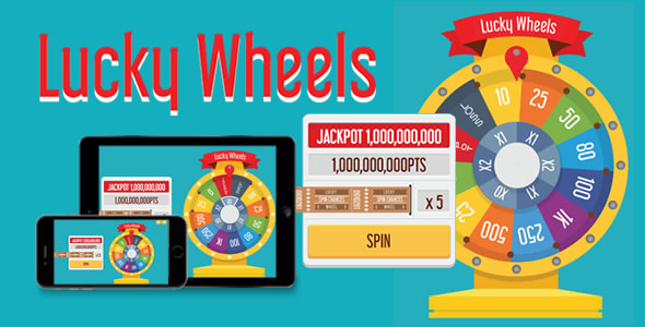 CodeCanyon Lucky Wheels HTML5 Game 20299831