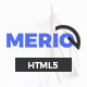 Merio - Creative Smart Agency One Page HTML5 Template