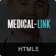 Medical-Link - Responsive HTML5 Medical Template - ThemeForest Item for Sale