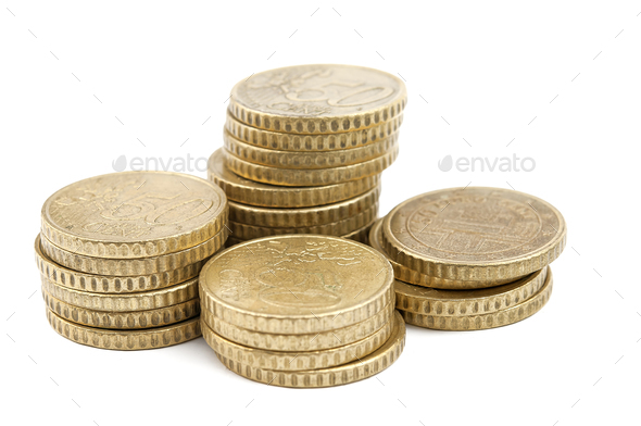 coin isolated - Stock Photo - Images