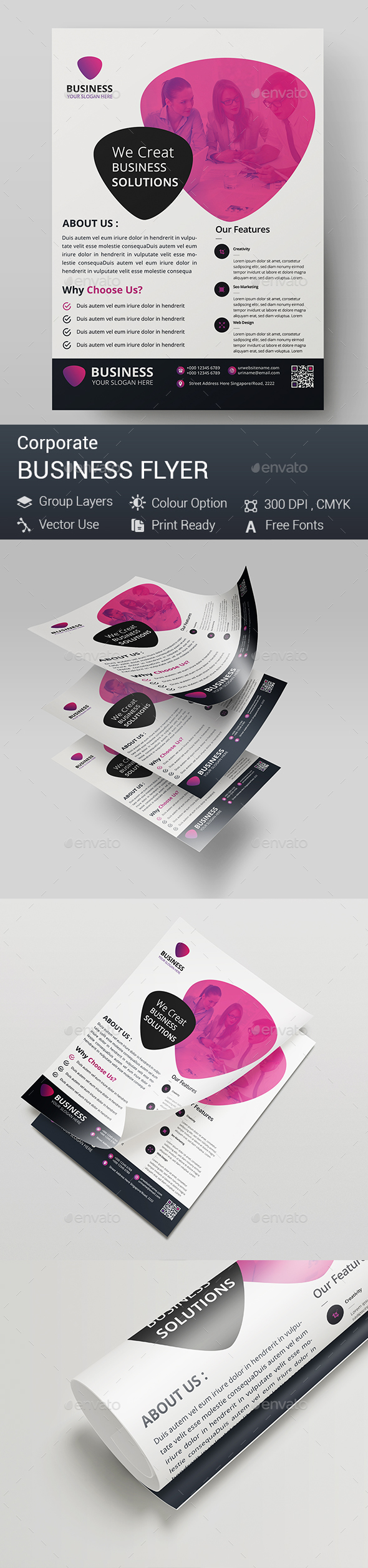 GraphicRiver Business Flyer 20331998