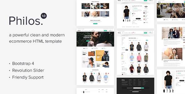 Image of Philos - Responsive Ecommerce Html Template