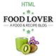 Food-Lover - Responsive Restaurant Template - ThemeForest Item for Sale