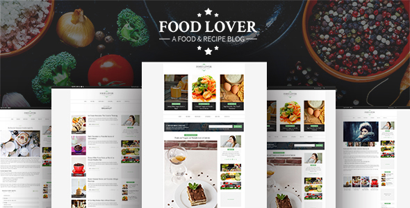 Food-Lover - Responsive Restaurant Template