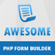 Awesome - Angular JS form builder PHP - CodeCanyon Item for Sale