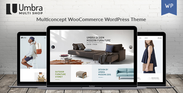 Umbra - Multi Concept WooCommerce WordPress Theme - WooCommerce eCommerce