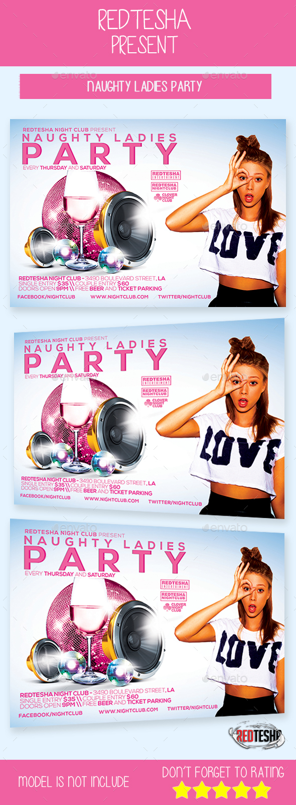 Naughty Ladies Party - Clubs & Parties Events
