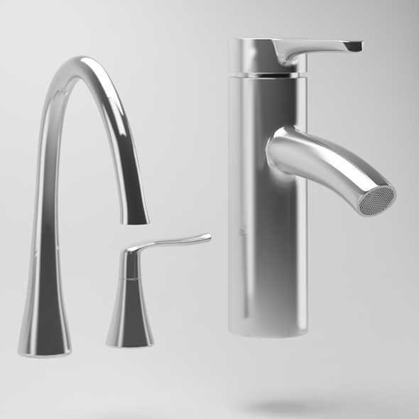 Water Tap - 3DOcean Item for Sale