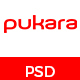 Pukara Personal Portfolio PSD Template - ThemeForest Item for Sale