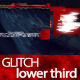 Glitch Shape Lower Third - VideoHive Item for Sale