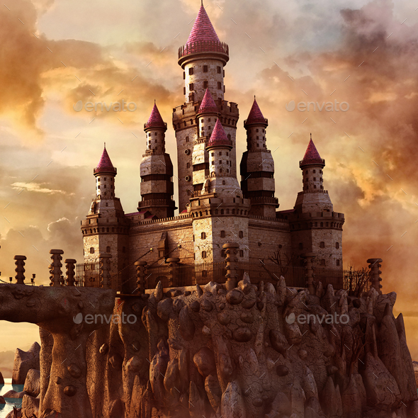 GraphicRiver Fantasy Castle 20332834