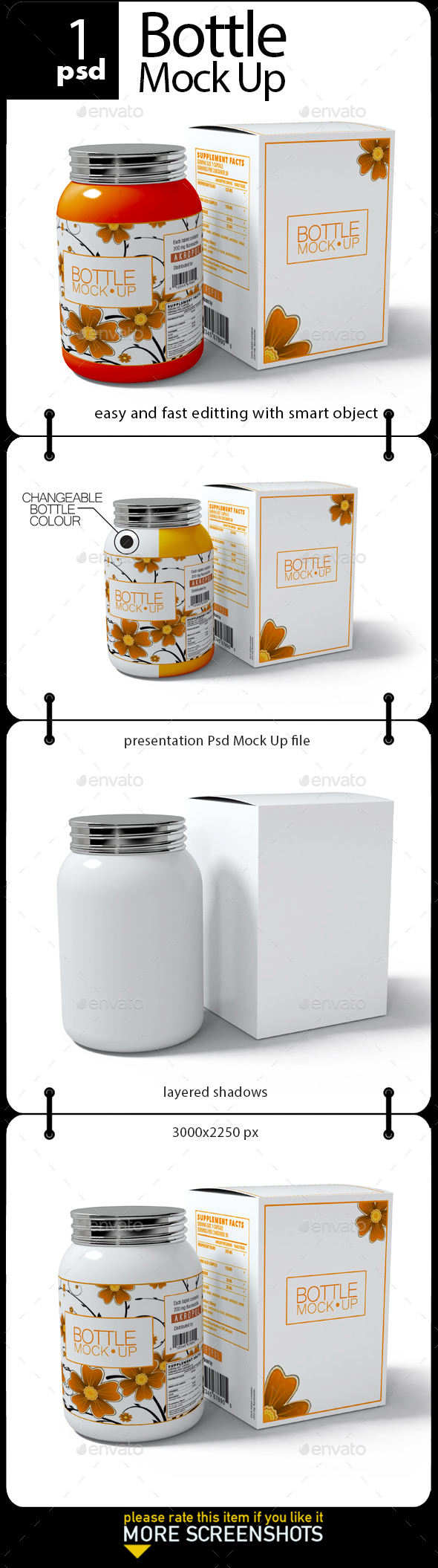 Bottle Mock Up - Miscellaneous Packaging