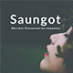 Saungot Minimal PowerPoint Template - GraphicRiver Item for Sale
